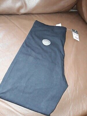 BNWT Girls Primark Casual Black Cropped Leggings Age 13-14 Years
