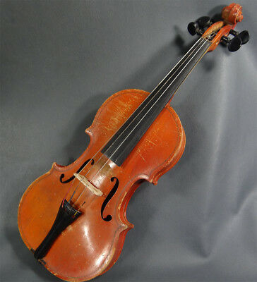 Antique Student/Youth Antonius Stradivarius Violin Fiddle 1/4 Musical Instrument