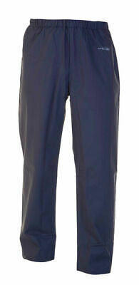 Size XL Hydro Wear NAVY BLUE Durable Lightweight Waterproof Breathable Trousers