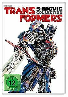 Transformers 5-Movie Collection [5 DVDs] by Micha...   DVD   condition very good