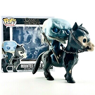 Mounted White Walker on Horse Game of Thrones Funko POP! Rides #60