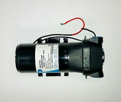 "JABSCO Industrial Diaphragm Pump with 24 Volt DC Motor, 1/2"" ports, 31800-0094"