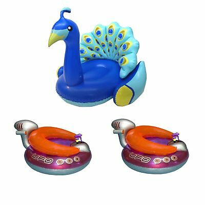 48 inch Kiddy Canoe FLOAT Kid Boat Ship Swimline Pool Party Lounge Toddler 9031