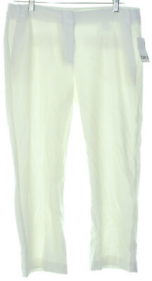 Bar III 1289 Size 2 Womens NEW Washed White Textured Culottes Pants Cropped $69
