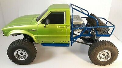 Rubber Fender Flares Set Tamiya RC 1//10 Toyota Pick-Up Bruiser Hilux Mountaineer