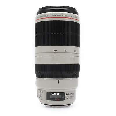 Canon 100-400mm f4.5-5.6 L IS II USM EF Zoom Lens Boxed