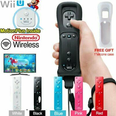 Wiimote Built in Motion Plus Inside Game Remote Controller For Nintendo Wii LF