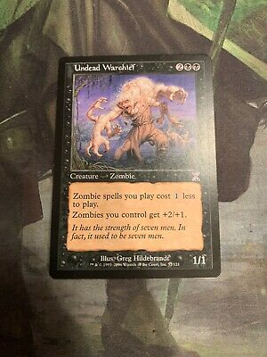 Combine shipping UNDEAD WARCHIEF MTG CARD