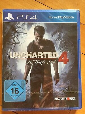 PS4 Spiel Uncharted 4 A Thief's End