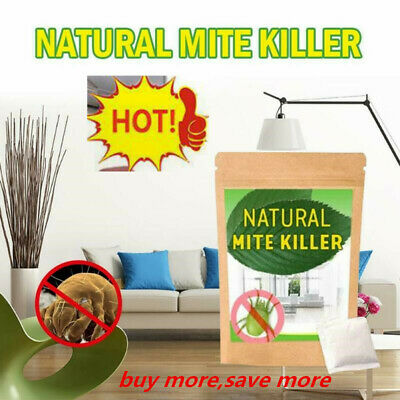 6Pcs/ Dust Mites Killer Mite Eliminator Natural For Bed Sheet Pillow Couch New