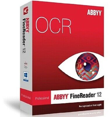 ABBYY FineReader Prof 12 PDF Editor For MAC 🔐License Key🔐Instant Delivery