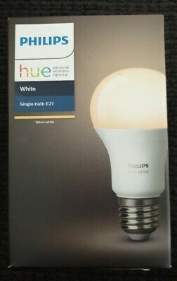 Philips Hue White Single Bulb E27 personal Wireless lighting(warm white)