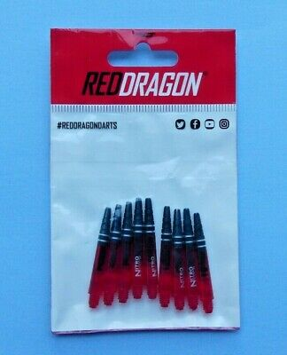 Red Dragon 9 RedDragon Nitrotech Schäfte short medium Dartshafts Shafts