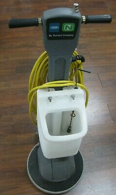 LOCAL PICKUP ONLY! Tennant  FM-17-SS Floor Machine Buffer w/ Tank + Brush!