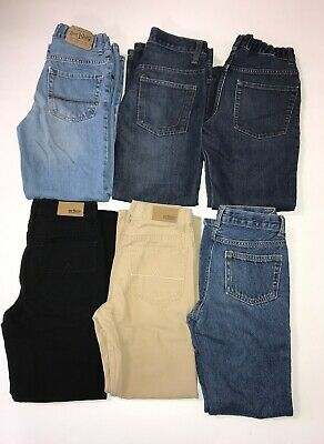 Lot Of Boys Bootcut/ Straight Jeans 6 Pairs Size 10S/10/12S TCP Urban Crazy 8