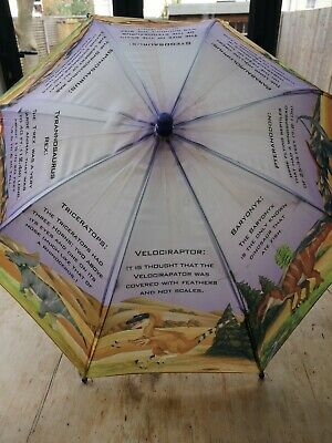 Child's Dinosaur Umbrella