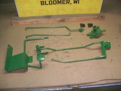 Oliver super55,550 farm tractor factory foot throttle kit VERY RARE OPTION!!!!