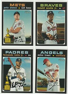 2020 Topps Heritage SHORT PRINT 401-500 - PICK FROM LOT *COMPLETE SET*