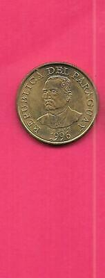 PARAGUAY KM178a 1996 UNC-UNCIRCULATED MINT OLD VINTAGE 10 GUARANIES COIN