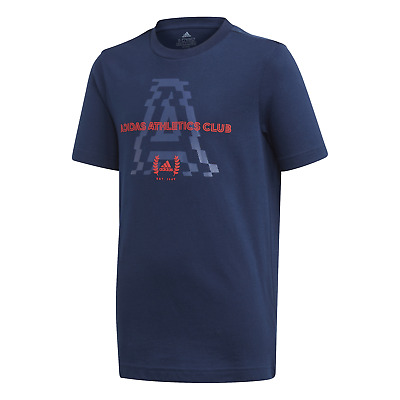 adidas Performance Kinder Sport Freizeit Shirt JB AAC GRAPHIC TEE navy