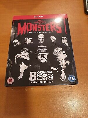 Blu-ray Neuf - Universal Classic Monsters - The Essential Collection - 8 films