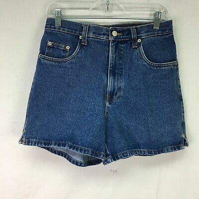 Vtg Bill Blass Jeans Medium Wash High Waist Denim Mom Jean Shorts Women Sz 6