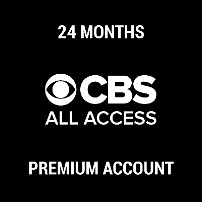CBS All Access Account Subscription | 2 YEARS WARRANTY