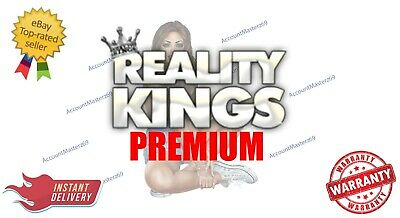 RK Reality Kings Account PREMIUM | LIFETIME - 5MIN DELIVERY -  1 YR WARRANTY