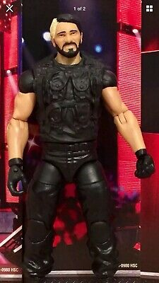 RARE SHIELD WWE Mattel action figure ELITE 25 WRESTLING SETH ROLLINS kid toy