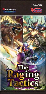 Cardfight!! Vanguard - V Extra Booster 09: The Raging Tactics - Booster Box