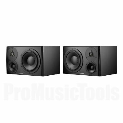 Dynaudio LYD-48 Black - Left & Right - PAIR BUNDLE SET * NEW * lyd48 monitors