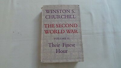 Winston Churchill Hardback Volume Ii Their Finest Hour 1950 Second Edition