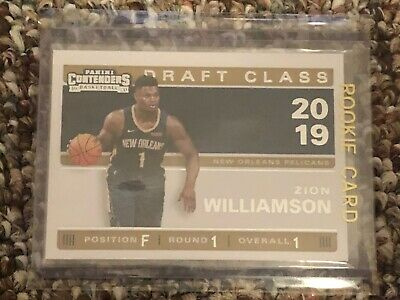 2019-20 Contenders ZION WILLIAMSON Draft Class 2019 Rookie RC #1! PWE SHIPPING