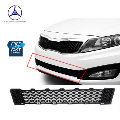 Fits 2011-2013 Kia Optima EX LX SX SXL Front Lower Mesh Grille Matte Black