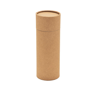 Kraft Card Tubes (5pcs) - Ideal for Retail Packaging - Eco Friendly