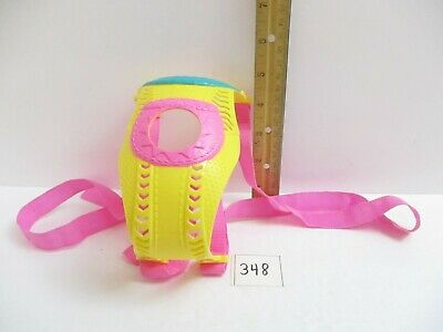 """Hasbro Baby Alive Yellow and Pink Baby Carrier for 13"""" Doll Baby Go Bye Bye"""