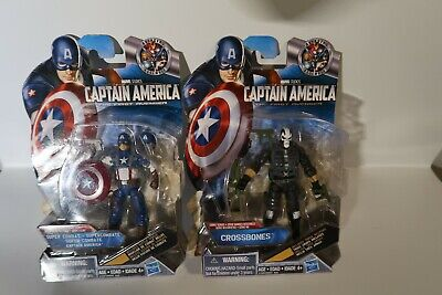 "Marvel Universe 3.75"" - Captain America The First Avenger 2 figures NIP"