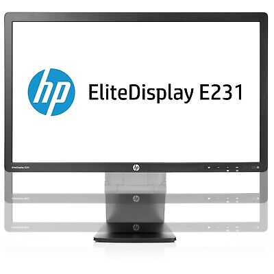 HP EliteDisplay E231 23-inch LED Backlit Monitor  VGA/DVI/DisplayPort