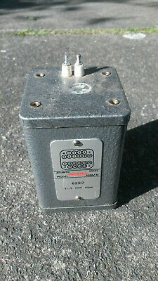 Parmeko 100H inductor 10mA large vintage component for valve equipment