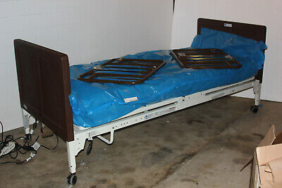 Invacare Full Electric Hospital Bed Package - New Mattress & Rails included