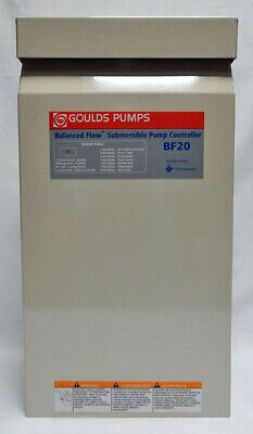 Genuine Goulds Bf20 Balanced Flow Submersible Pump Controller
