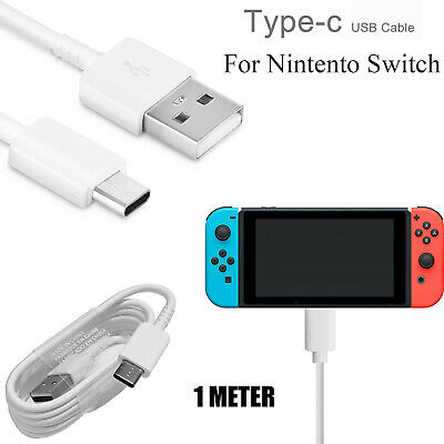 Fast USB-C Charging Cable 1 Metre Type-C Charger Lead For NINTENDO SWITCH / LITE