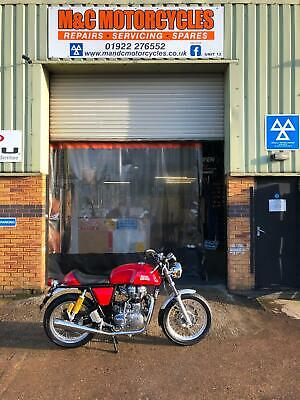 Royal Enfield Continental GT just 210 miles!Ex demo immaculate 3 months warranty