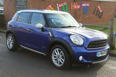 14/64 MINI Countryman COOPER D ALL4 AUTOMATIC MET BLUE/BLACK LEATHER LOW MILES++