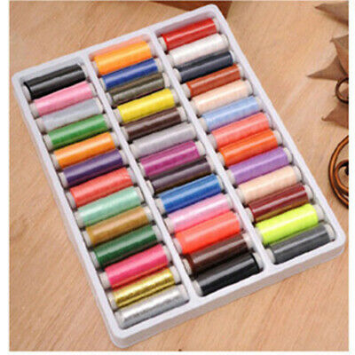39 Colors Cotton Thread Reel Cord For Sewing Machine Hand Sewing Assorted AU