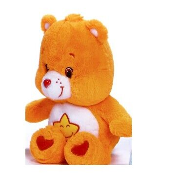 "New Official 12"" Care Bear Laugh-A-Lot Bear Soft Plush Toy"