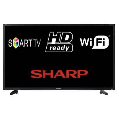"Sharp Aquos Net+ 32BC2I / 1T-C32BC2IH2NB 32"" Smart LED TV HD Ready WiFi Freeview"
