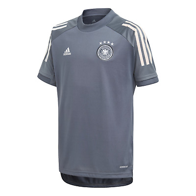 adidas Performance Kinder Freizeit T-Shirt DFB TRAINING JERSEY YOUTH onix