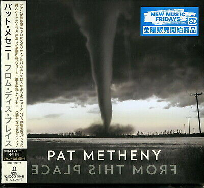 Pat Metheny-From This Place-Japan CD F56