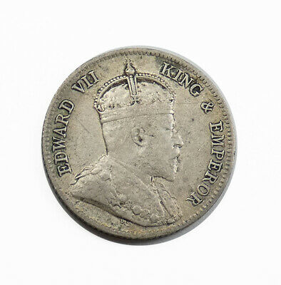 East Africa 1906. Silver 25 Cents. Extra Fine. KM# 3